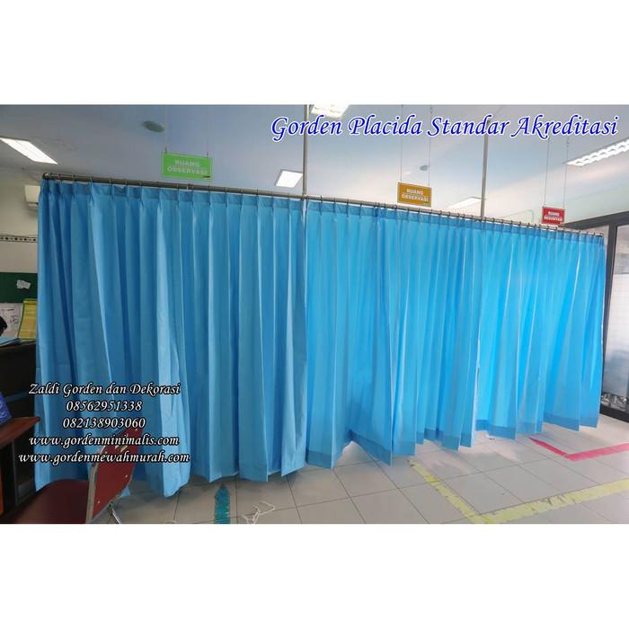 Jual Gorden Penyekat ruang IGD Rumah Sakit bahan anti noda anti bakteri -  Kab  Bantul - Azzalfa Modiste | Tokopedia