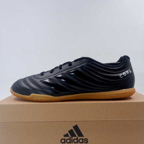 Promo Sepatu Futsal Adidas Copa 19 4 In Core Black F35485 Original