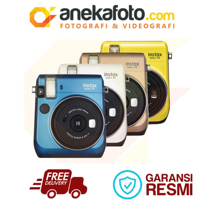 harga Fujifilm instax mini 70 ex d - blue Tokopedia.com
