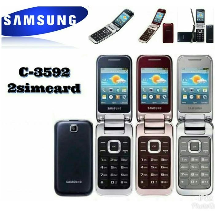 Jual Flash Sale Handphone Samsung Lipat Gt C3592 Hp Samsung Flip