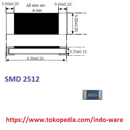Jual 2512 SMD alloy resistor R020 0.020 ohm 20mR accuracy 1% rshunt R Pid Vga Cable Wiring Diagram on