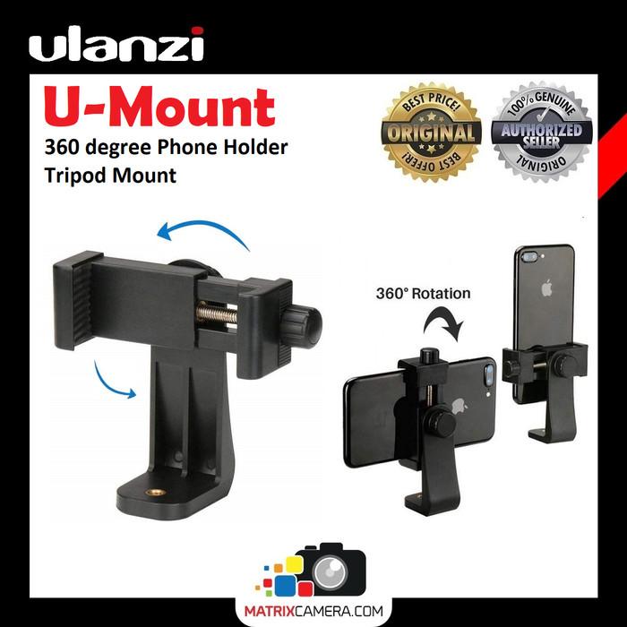 Foto Produk Ulanzi U Mount 360 degree Smartphone Phone Holder HP Vlog Tripod Mount dari MatrixCamera