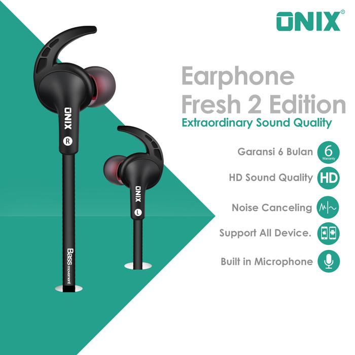 harga Onix wired headset fresh-02 - extraordinary sound quality Tokopedia.com