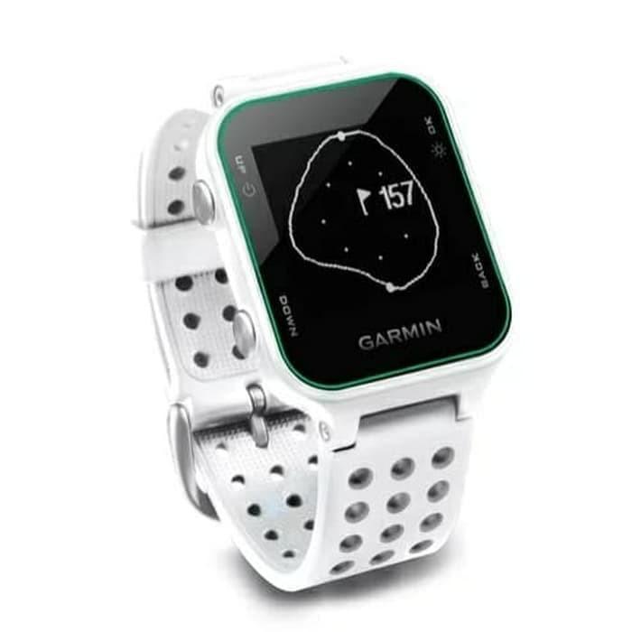 Jam Tangan Olahraga Golf - GARMIN Approach S20 - Black & White - Hitam