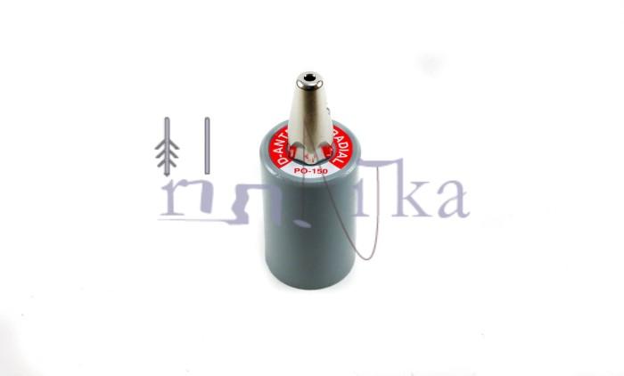 harga D antenna po-150 antena rig mobil vhf ht larsen silver chrome putih Tokopedia.com