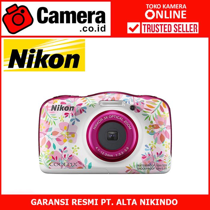 harga Nikon coolpix w150 - kamera pocket - pink Tokopedia.com