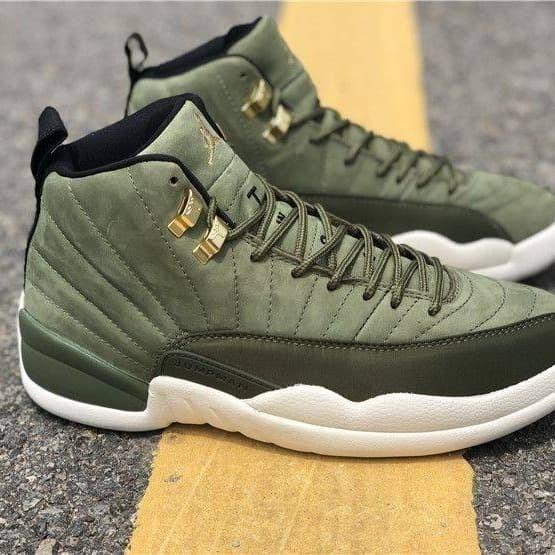 new york 728c8 e15c2 Jual Sepatu Nike Air Jordan 12 Olive Green Premium - Jakarta Pusat - Gudang  Sepatu 99   Tokopedia