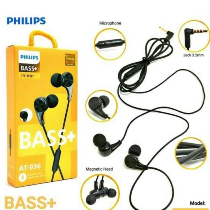 Foto Produk Headset Handfree Hf Earphone Philips Magnet At-036 Bass Original dari Astop Acc