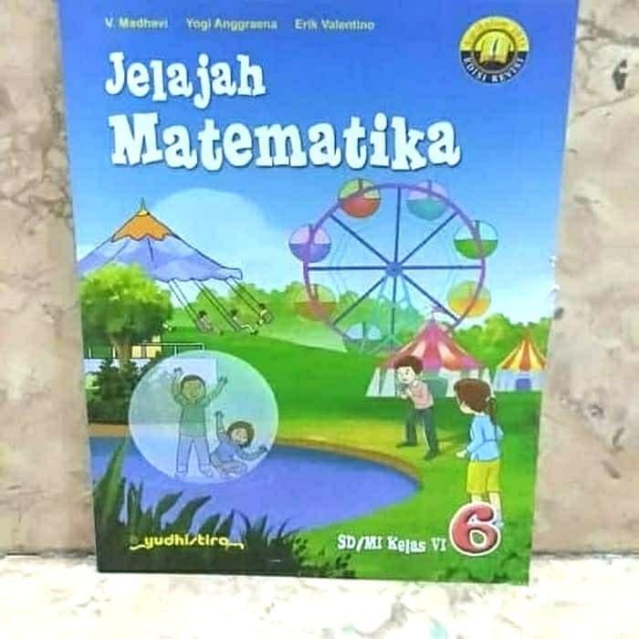 Download Buku Matematika Kelas 6 Penerbit Erlangga Dunia Sosial