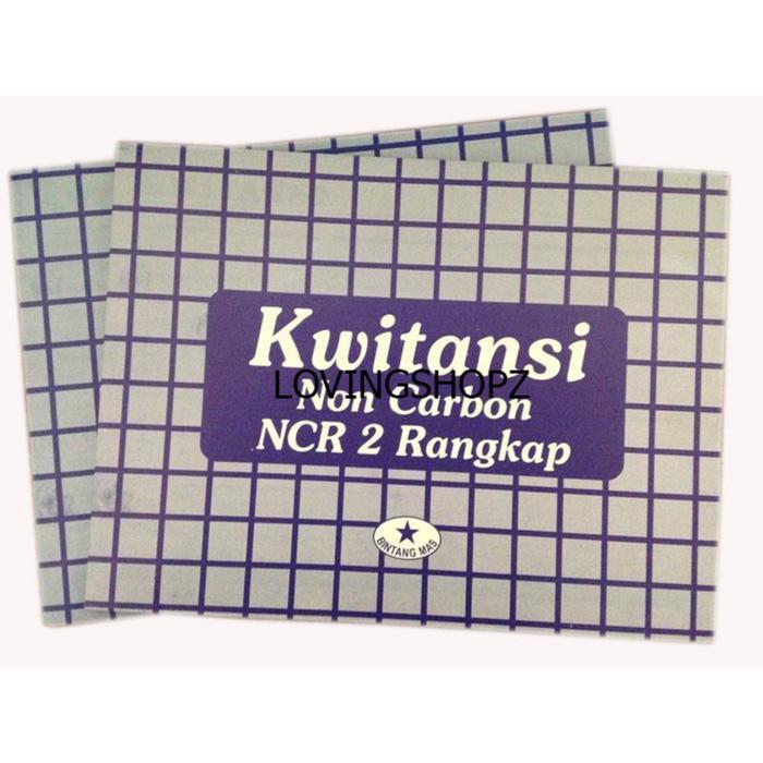 Jual Kuitansi Rangkap 2 Non Carbon Dki Jakarta Loving Shop Tokopedia