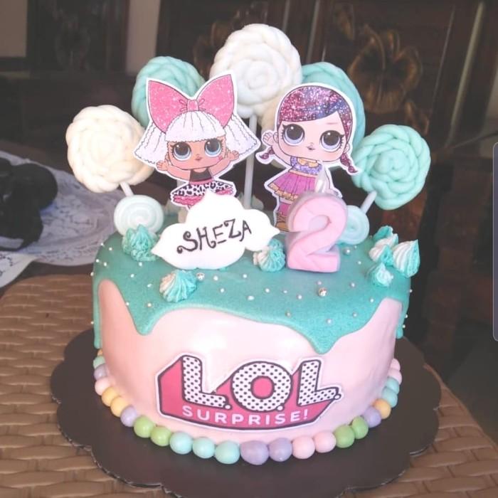 Jual 3d Lol Surprise Custom Cake Kado Ulang Tahun Anak Lucu Jakarta Pusat D Fashion House Tokopedia