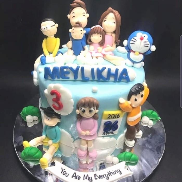 Jual 3d Familu Cake Custom Kado Kue Ulang Tahun Doraemon Jakarta Pusat D Fashion House Tokopedia