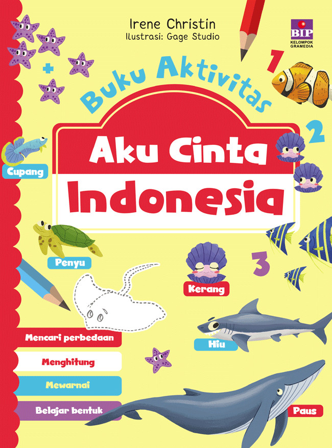 Jual Buku Aktivitas Aku Cinta Indonesia By Irene Christin