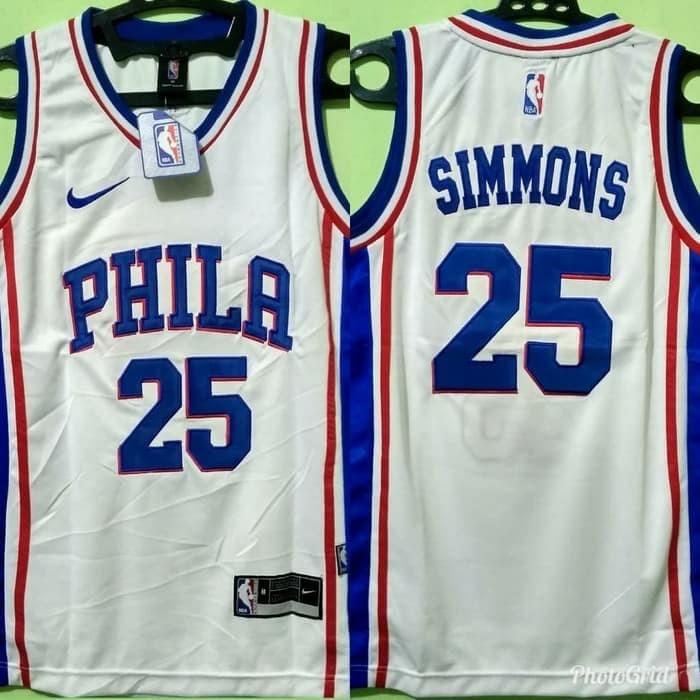quality design 9b660 0e171 Jual Simmons Phila Jersey Basket - Kota Tasikmalaya - Buana Sentosa Jersey  | Tokopedia