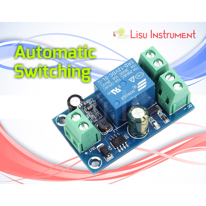 Foto Produk PowerOFF Protection Automatic Switching Module for 12V-48V Battery UPS dari LisuInstrument