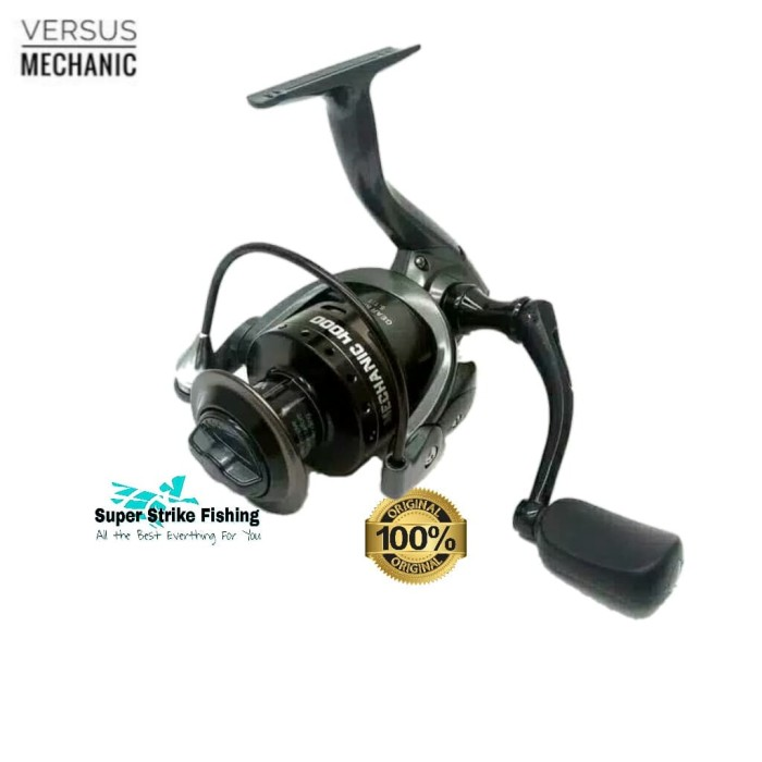 Jual Reel Pancing Galatama Spinning Versus Mechanic 4000 8+1BB Original -  Kab  Tangerang - Super Strike Fishing | Tokopedia