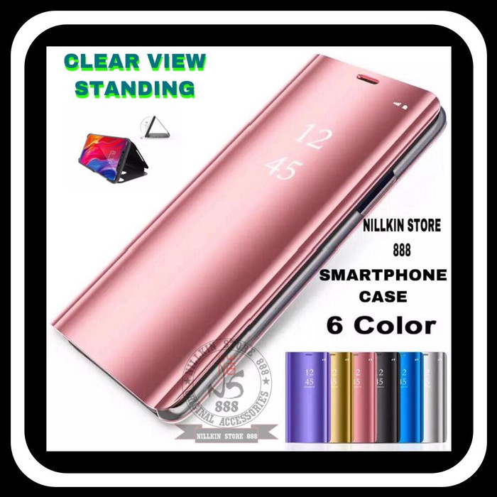 harga Samsung galaxy a20s a207 clear view standing casing flip cover case Tokopedia.com