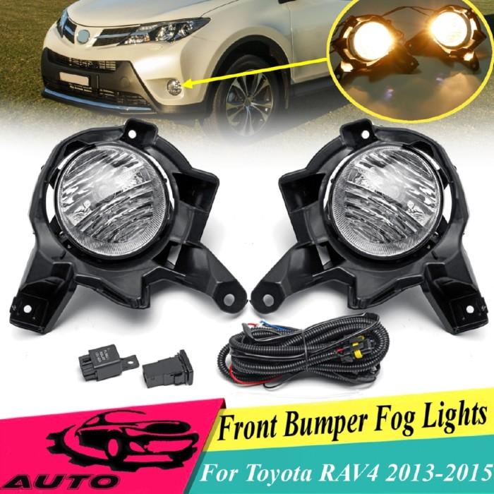 1Pcs Left Fog Lamp Mounting Bracket Support Holder For Toyota RAV4 2013-2015