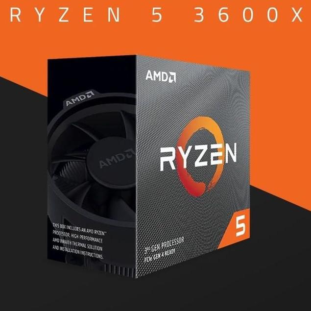 Jual AMD RYZEN 5 3600X Box AM4 6 Core Zen 2 CPU with Wraith Spire Cooler -  DKI Jakarta - Lezz Computech | Tokopedia