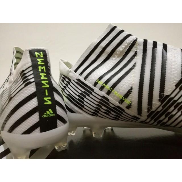 Jual Ori Sepatu Bola Soccer Adidas Nemeziz 17 360 AGILITY Putih Hitam Jakarta Barat bilqiz_store | Tokopedia