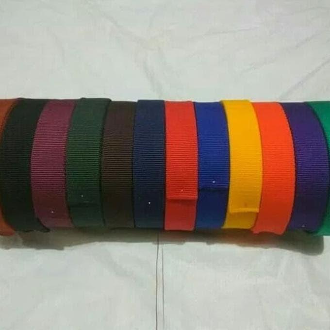 Foto Produk Baru Tali Webing Tubular 4,5 Meter Diameter 2,5Cm dari kamaluddinahmad
