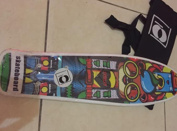Foto Produk Paling Laris Penny Board Murah / Penny Blank / Skateboard Mini Murah dari kamaluddinahmad
