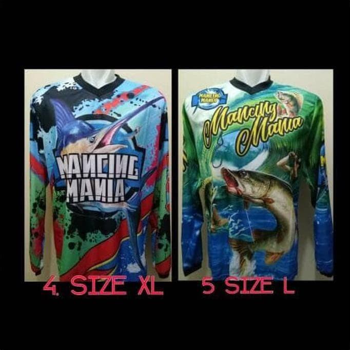 Foto Produk Terbaru Kaos Mancing Mania - Jersey Mancing Mania Kmm01 dari kamaluddinahmad
