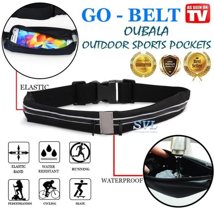 Foto Produk Paling Laku Go Belt - Outdoor Sports Pockets - Water Proof -Gojek dari kamaluddinahmad