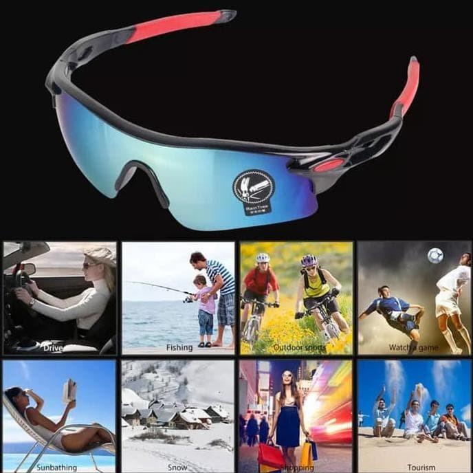 Foto Produk Paling Populer Kacamata Sepeda Outdoor / Kacamata Olahraga dari kamaluddinahmad
