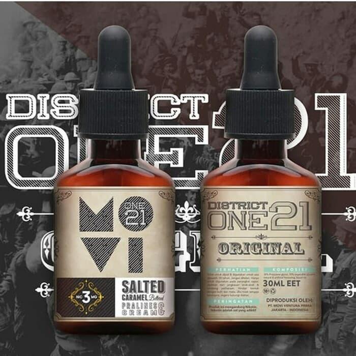 Jual Authentic MOVI x DISTRICT ONE21 - SALTED CARAMEL E Liquid Vape Vapor -  Jakarta Barat - andreedoanks | Tokopedia