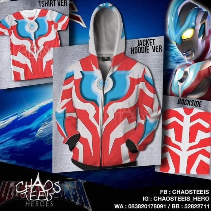 Jual Jaket Hoodie Ultraman Ginga Size Anak Murah Jakarta Selatan Kikiagustin Tokopedia