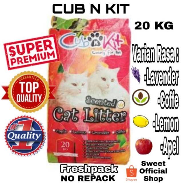 Jual Promo Pasir Kucing Gumpal Wangi Cub N Kit Cubnkit 20 Kg Original Jakarta Barat Wulandapsedia Tokopedia