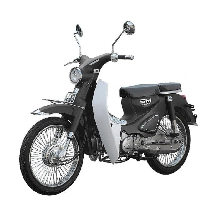 harga Sm sport cub classic sepeda motor (vin 2019 / otr jawa timur)**grey** - abu-abu Tokopedia.com