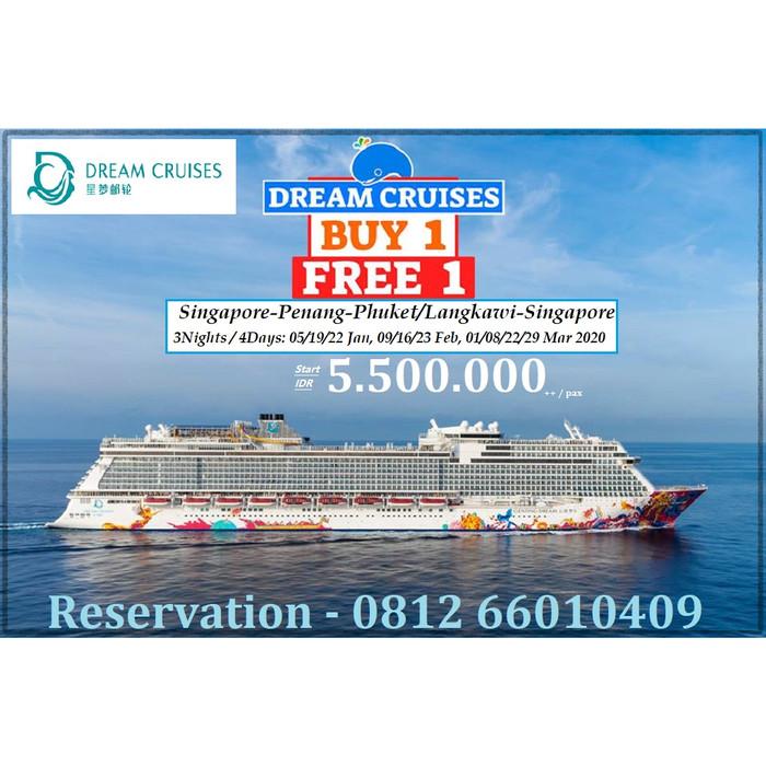 Dream Cruise 2020.Jual Genting Dream Cruise Inside Cabin 4 Days 2020 Singapore Jakarta Barat Samera Cruise Tokopedia