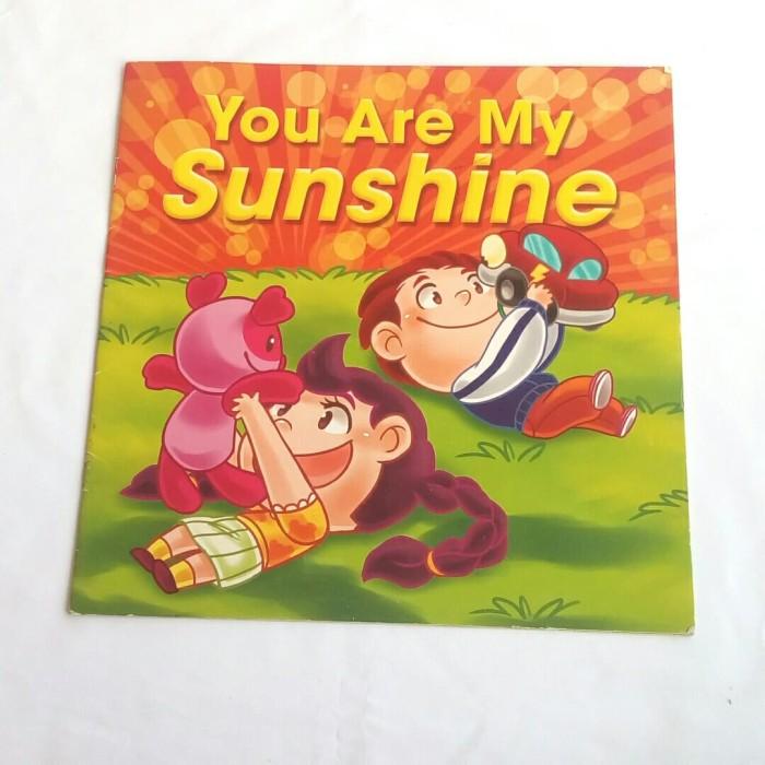 Jual Buku Cergam Warna Besar Anak B Inggris You Are My Sunshine Kab Tegal Komik Mantab Viedo Tokopedia