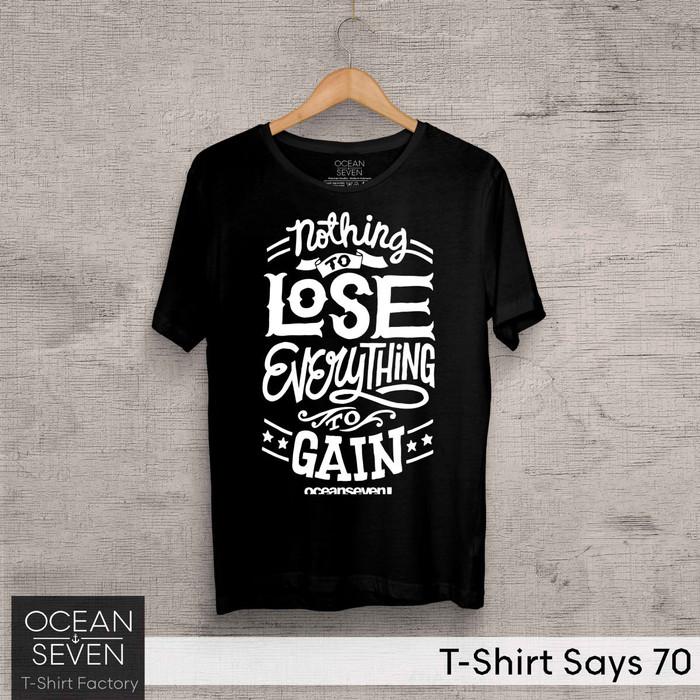 jual baju kaos tshirt quotes pria cowok keren terbaru t shirt says