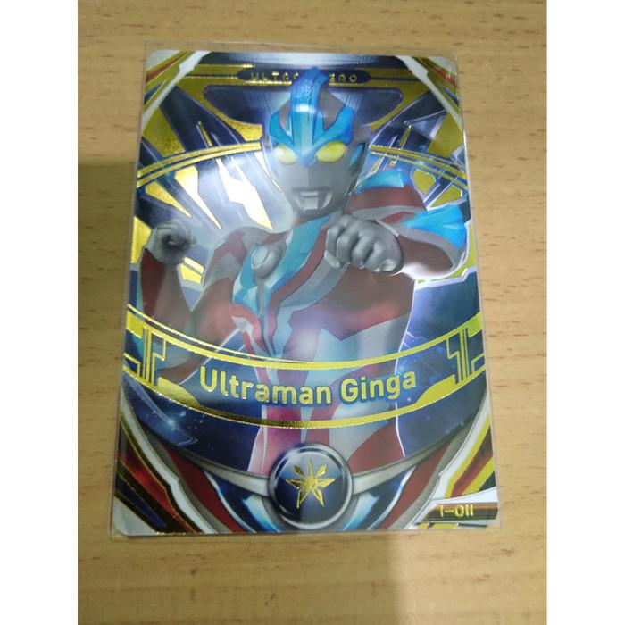 Jual Kartu Ultraman Fusion Fight Or Ultraman Ginga Jakarta Barat Valimar Shop Tokopedia
