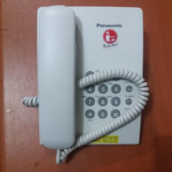 Foto Produk Telepon Panasonic KX-TS505 Buat Rumah Dan kantor. Panasonic KX-T505 - Putih dari BGC ELECTRONIK