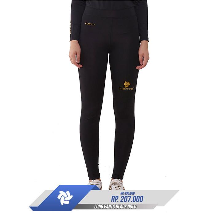 Jual Legging Olahraga Celana Panjang Black Gold Futsal Gym Fitness Renang Kota Bandung Gan Z Daban Tokopedia