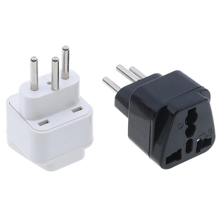 Home, Furniture & DIY Universal UK/US/EU to Switzerland Swiss AC power plug travel adapter convert UP