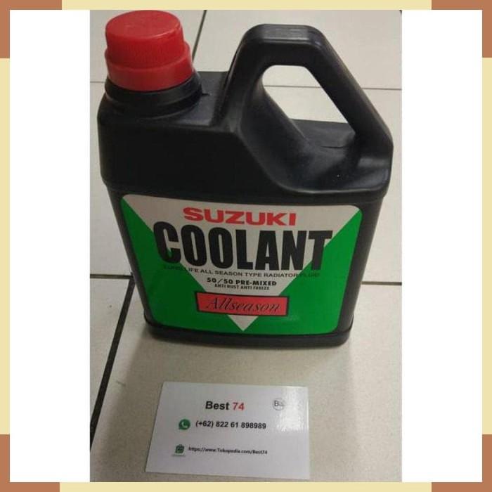 Jual Air Radiator Suzuki Coolant 50 50 Pre-Mixed Anti Rust Anti Freeze 1L -  DKI Jakarta - Motor ID | Tokopedia