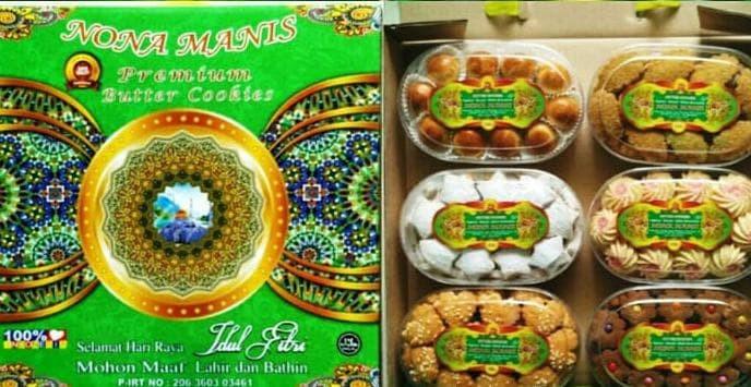 Jual Dijual Nona Manis Kue Kering Makanan Ringan Cemilan