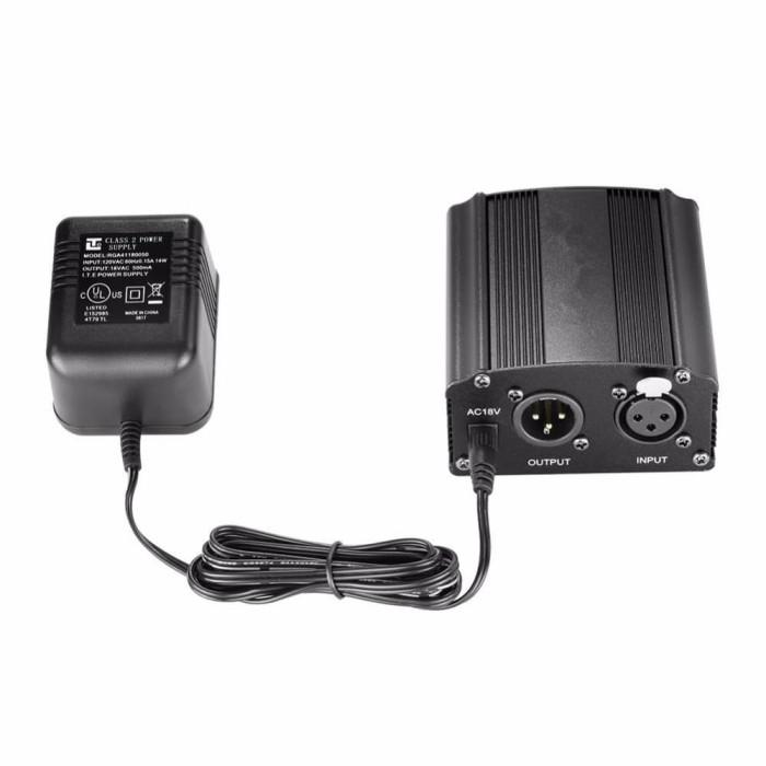 Jual Mic BM-800 + Phantom Power + Stand + Filter + Splitter + Sound Card -  Jakarta Barat - Camera Mania | Tokopedia