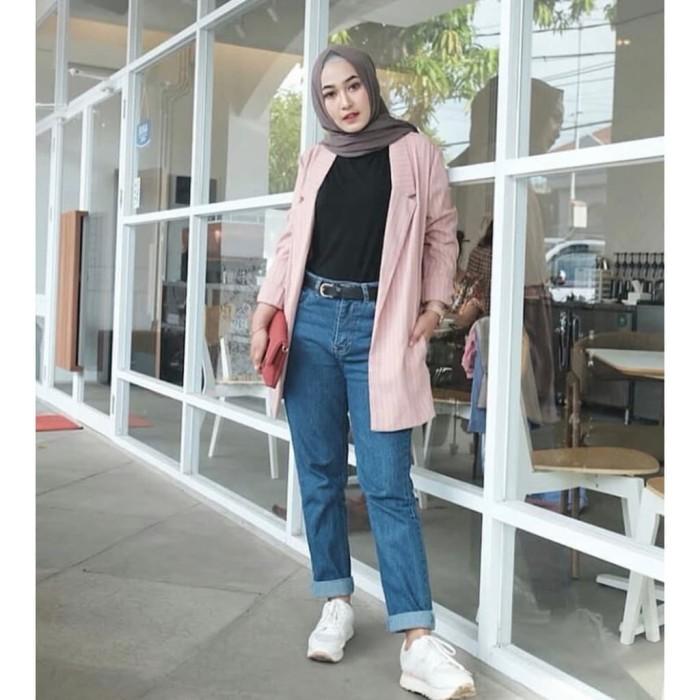 35+ Terbaik Untuk Celana Boyfriend Jeans Wanita Hijab ...