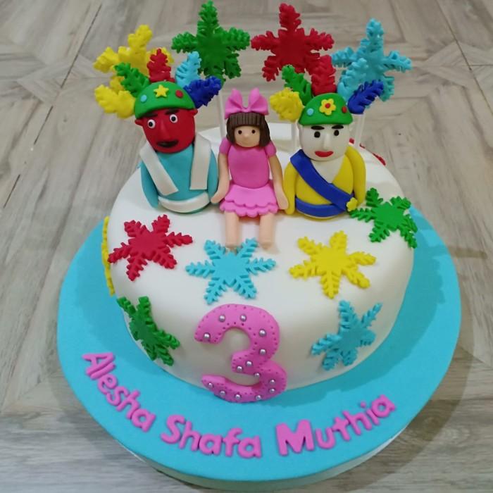 Jual Kue Ulang Tahun Kue Ultah Anak Kue Ultah Lucu Kue Custome Kab Bekasi Antin Cake Tokopedia