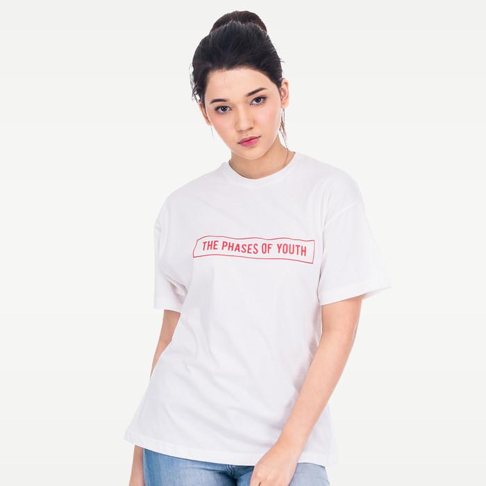 harga Youngster y1004 tumblr tee t-shirt kaos wanita cotton baju cewe putih - m Tokopedia.com