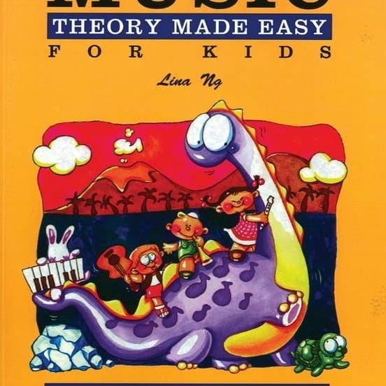 Foto Produk Buku Piano Teori Lina Ng - Music Theory Made Easy for Kids level 1 dari Pernak Pernik Musik