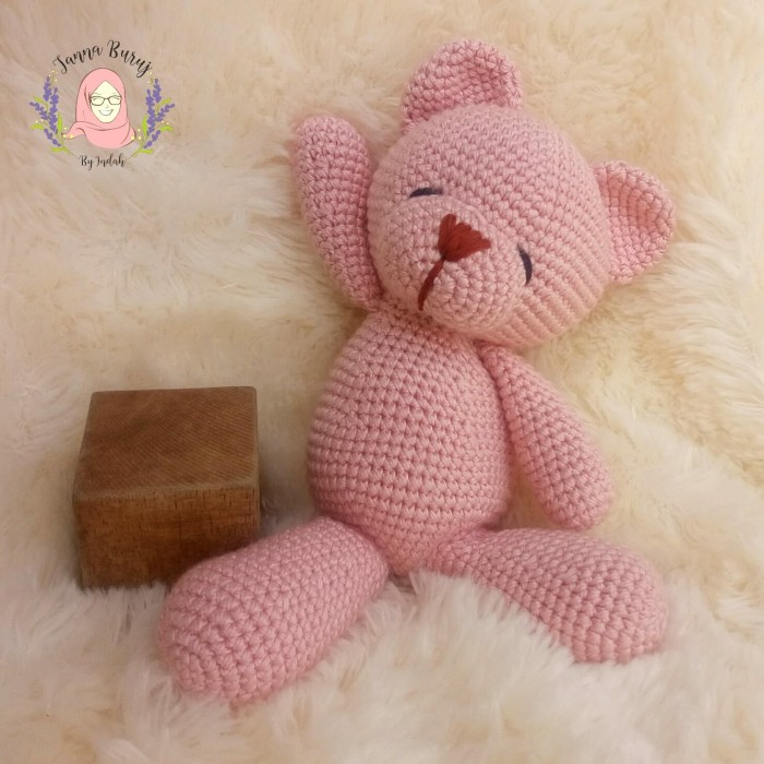 Crochet baby bear sleeping on the moon, crochet pattern, amigurumi ... | 700x700