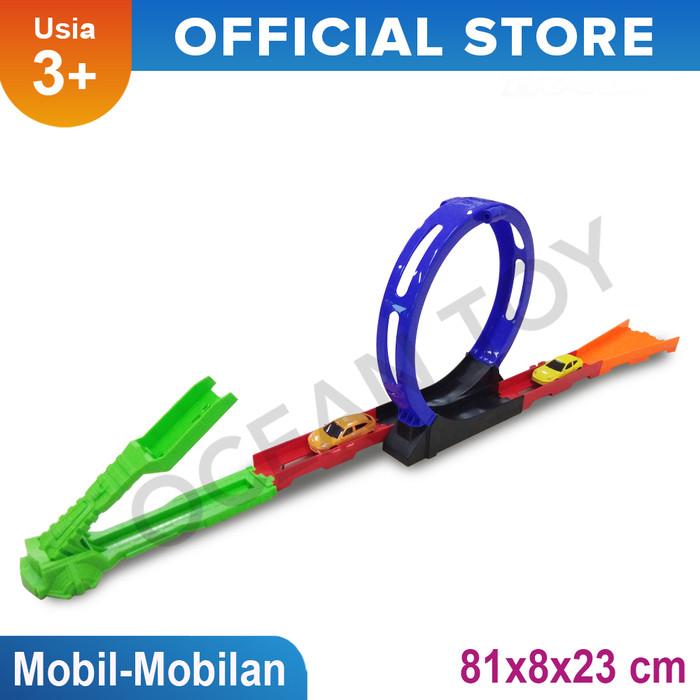 harga Mainan mobil - mobilan road wheels dan track rapid transit - oti919 Tokopedia.com