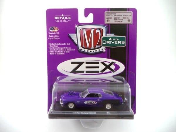 1:64 M2 Machines DRIVERS R51 *ZEX* Purple 1970 Ford Mustang BOSS 429 *NIP*